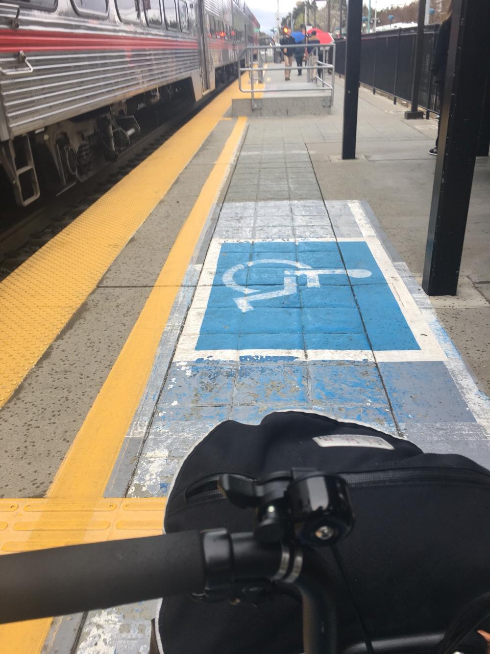 train platform view